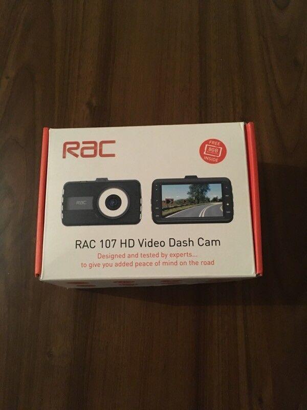 RAC 107 HD video dash cam
