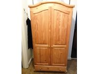 Two Double Wardrobes - IKEA - solid pine