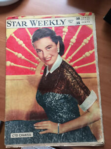Star Weekly May 17, 1952 Cyd Charisse on cover