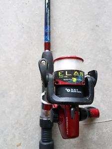 Elan south bend fishing rod
