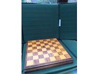 Old woodern chess set