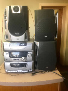 5 Disc Changer Audio System