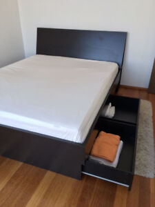 Ikea Oppdal Bed (Queen Size) With Headboard