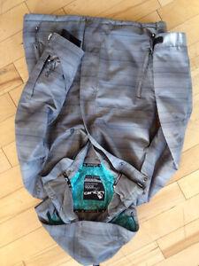 Grey Liquid Brand Ski Jacket