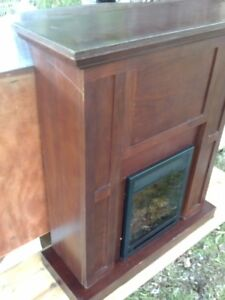 fire place TV stand heater