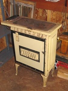 Antique Wood Stove for Atmosphere