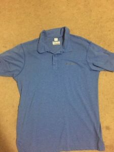 Mens Columbia golf shirt