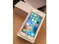 iPhone 6 silver and white, 16gb unlocked