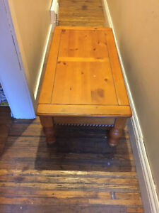 coffee table with matching end tables