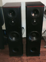 PSB Stratus Gold i Speakers in Cherry