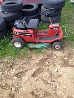 Craftsman 8/30 riding mower