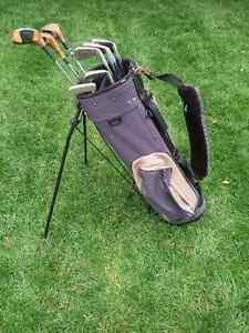 Left Handed Golf Club's With Bag For Sale
