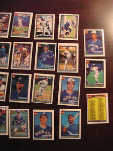 1991 Topps Toronto Blue Jays Baseball Mini Team Set Belleville Belleville Area image 4