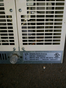Dimplex heater