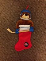 1994 Quebec Nordiques Teddy Bear Stocking