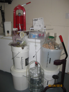Beer/Wine Making Equipment