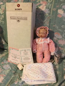 """""""BABY ELIZABETH HOMECOMING"""" PORCELAIN DOLL COLLECTIBLE"""