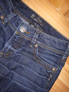 Silver jeans suki size 27/34