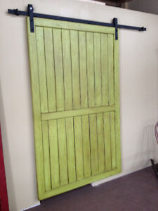 New Rustic Sliding Barn Door & Barn Door Hardware Cambridge Kitchener Area image 2
