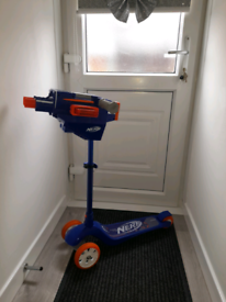 Kids nerf scooter