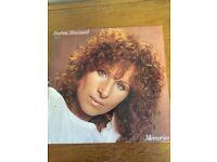 "Barbara Streisand ""Memories"" vinyl record"