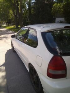Safetied Clean Tittle 2000 Honda Civic Hatchback B16 Vtec OBO