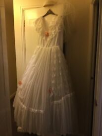 Vintage wedding dress size 12