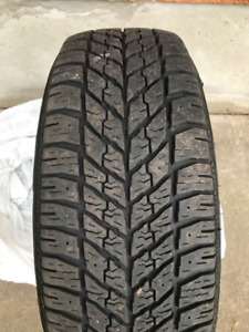 "16"" WINTER TIRES AND STEEL RIMS (Set of 4) GOODYEAR UltraGrip"