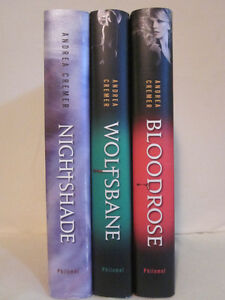 Nightshade series by Andrea Cremer