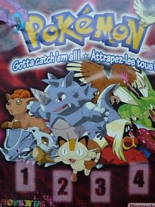 1999 Pokemon Poster