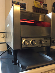 "HOLMAN T-710H conveyor toaster, 14""w x 15"" H shipping available"