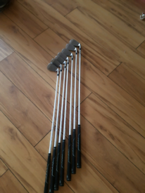 Left hand wilson d100 golf irons £100