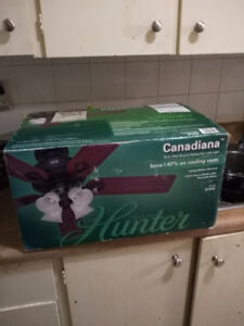 Hunter Ceiling Fan (Canadiana) Model 545