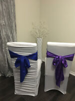 Rent  chair covers from $1
