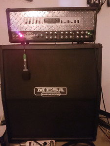 MESA BOOGIE triple rectifier head and cab