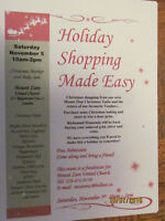 Holiday Shopping made easy. Mount Zion Christmas Market