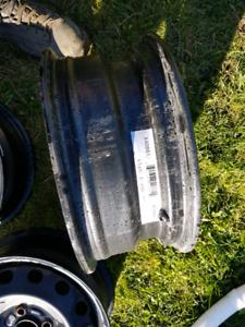 4 roue acier rim ring 15 pouce 4 x 100 56.1 aucune rouille poser
