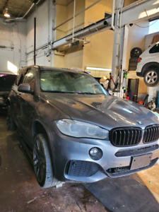 BMW F15 X5 2015 FOR PARTS ONLY PART OUT M PACKAGE