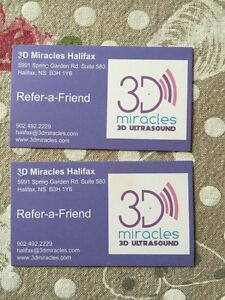 3D Miracles Referral Cards