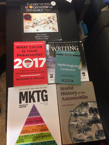 Georgian College - Business Books! Great Condition! $15-$100