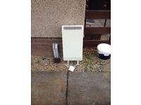 Storage heater Dimplex for bath/shower room
