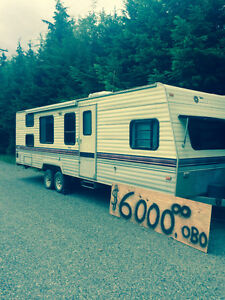 1990 terry travel trailer 24 ft