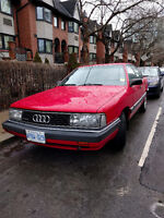 ** New Photos ** Classic AUDI 5000 TURBO QUATTRO in RACING RED