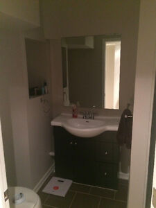 AVAILABLE IMMEDIATELY OR FELXIBLE - NEWLY RENOVATED BASEMENT APT