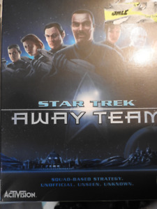 Star trek Away Team (Activision) Game Brand New
