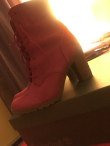 Timberland Red Boot
