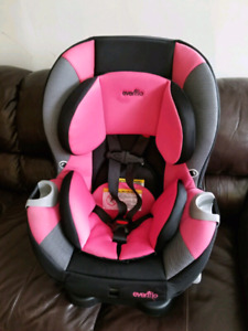 Car seat for girl