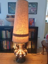 Retro 70s dual bulb German lava lamp