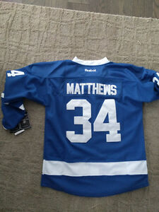Austin Matthews jersey Toronto maple leafs kids youth Small/Med