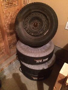 Bridgestone Blizzak Winter Tires with Rims